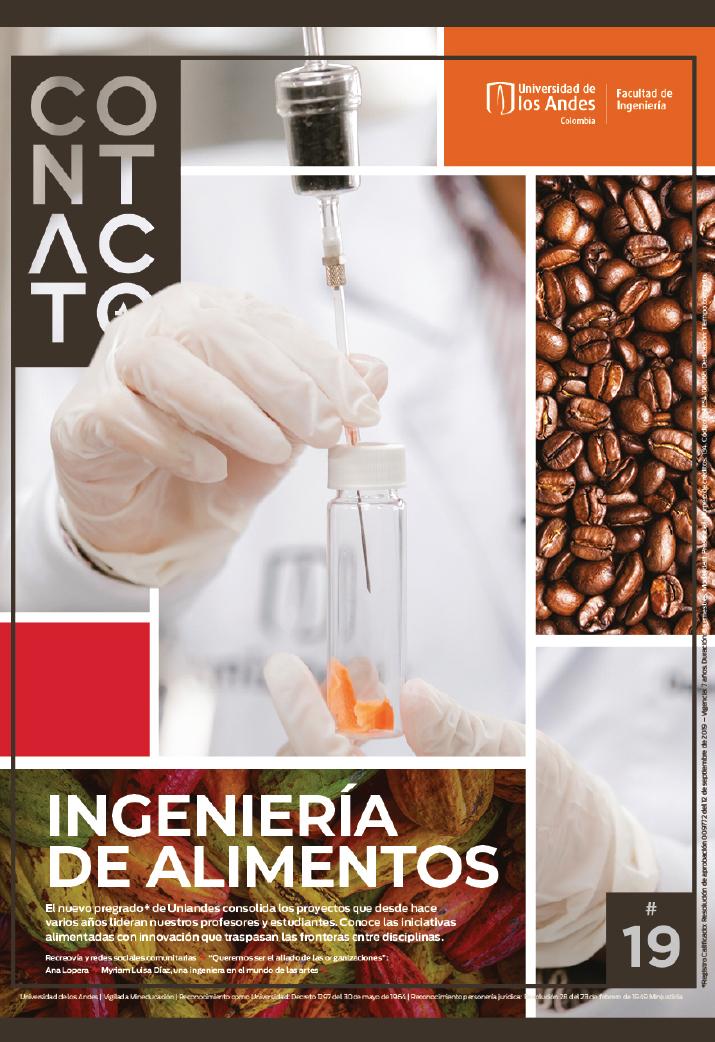 Revista Contacto - Ingeniería de Alimentos