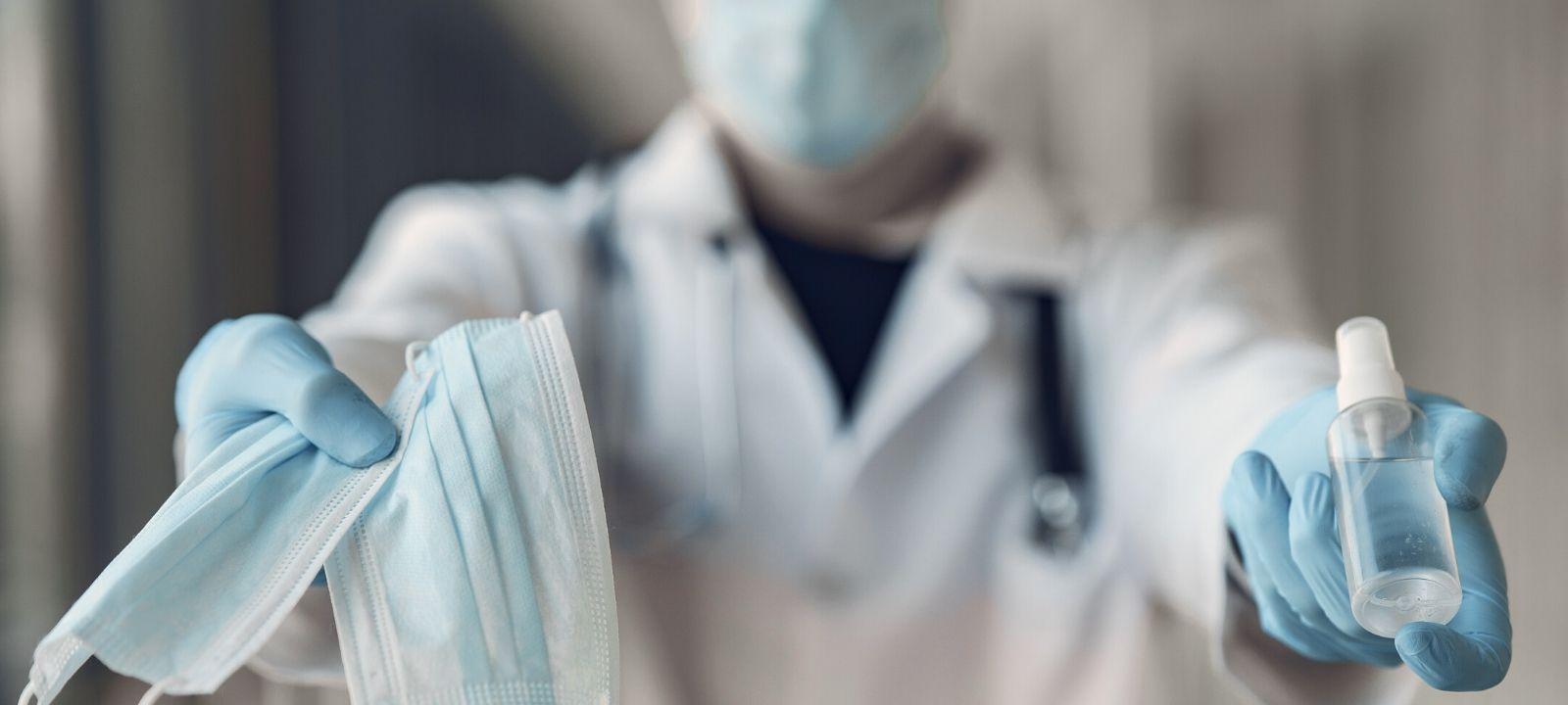 Personal de salud durante la pandemia