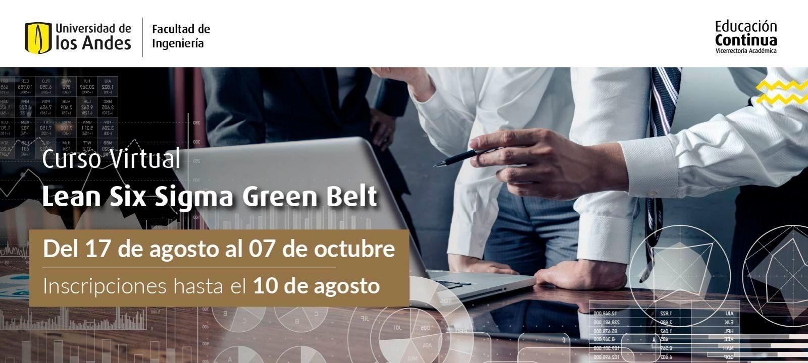 Curso virtual | Lean Six Sigma Green Belt