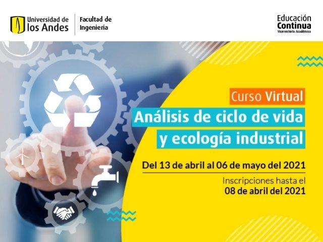 Curso virtual - Análisis de ciclo de vida y ecología industrial