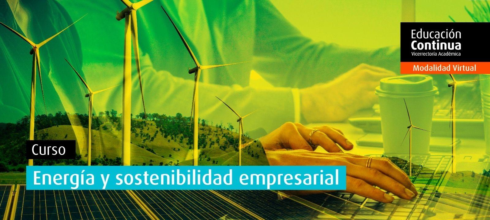 Curso virtual | Energía y sostenibilidad empresarial para líderes