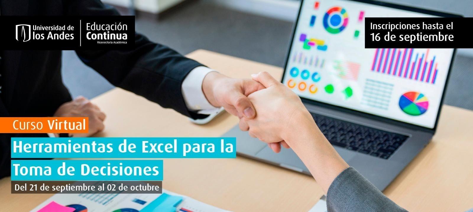 Curso virtual - Herramientas de Excel para la Toma de Decisiones