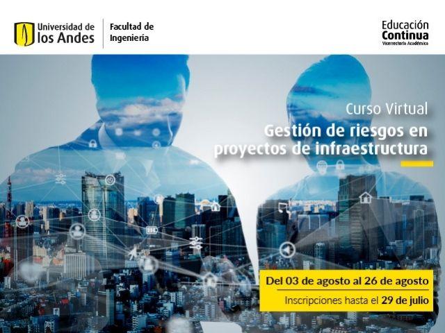 Curso virtual | Gestión de Riesgos en Proyectos de Infraestructura