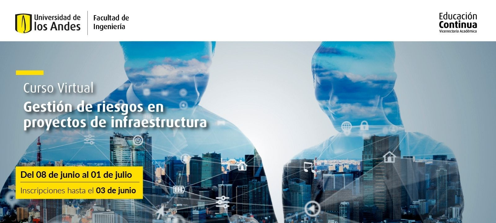 Curso virtual - Gestión de riesgos en proyectos de infraestructura