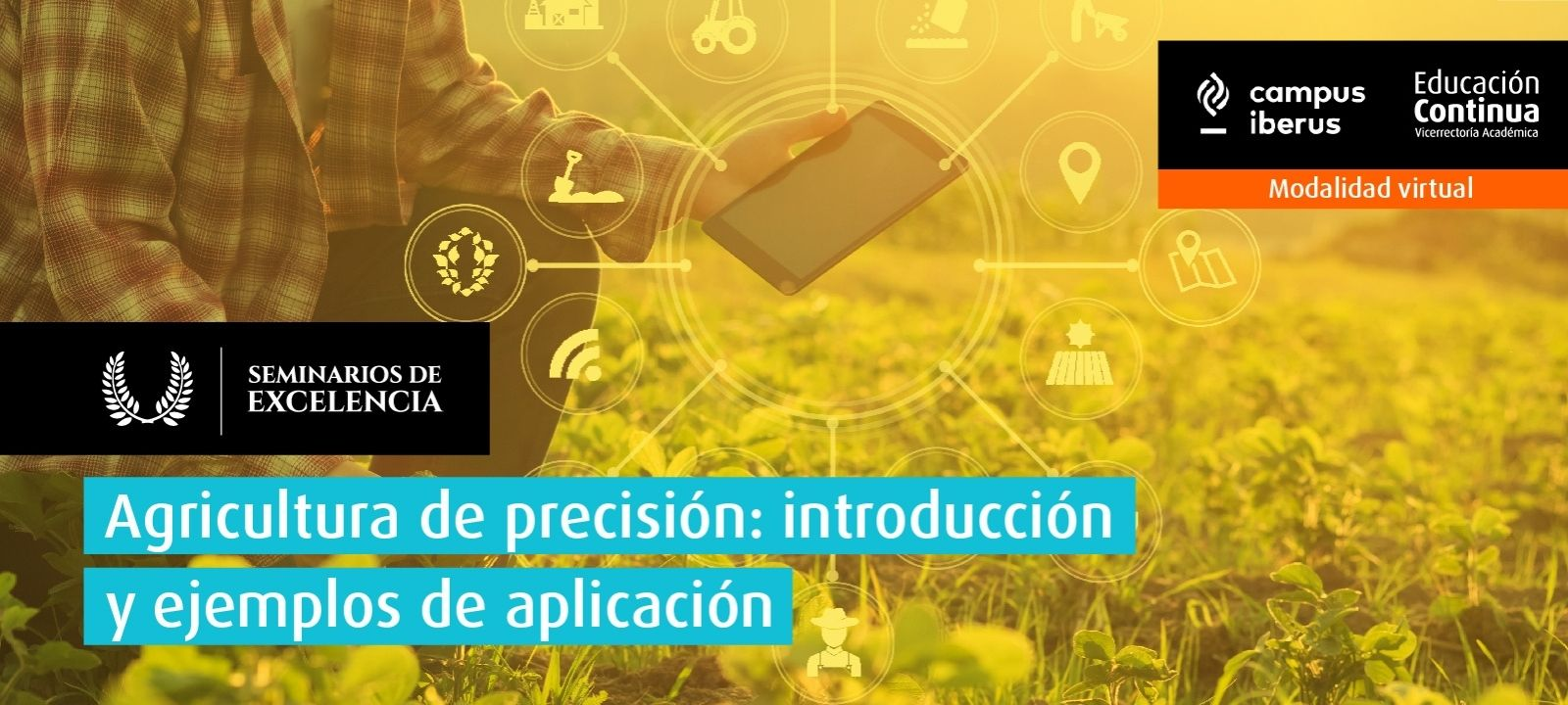 Curso virtual - Agricultura de precisión: introducción y ejemplos de aplicación