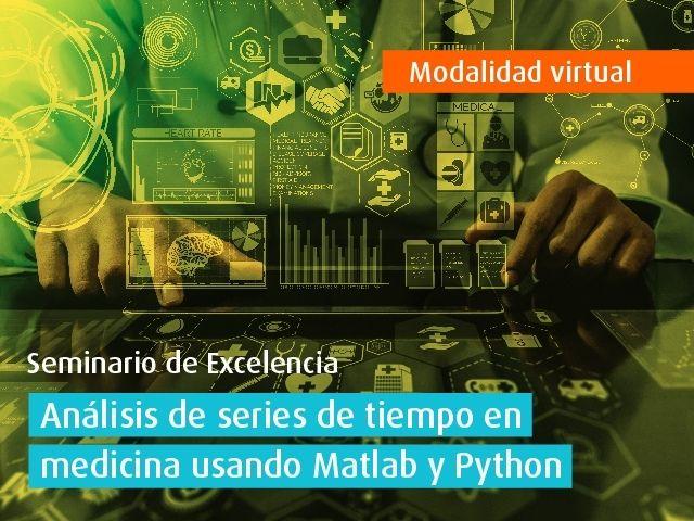 Curso virtual - Análisis de series de tiempo en medicina usando Matlab y Python