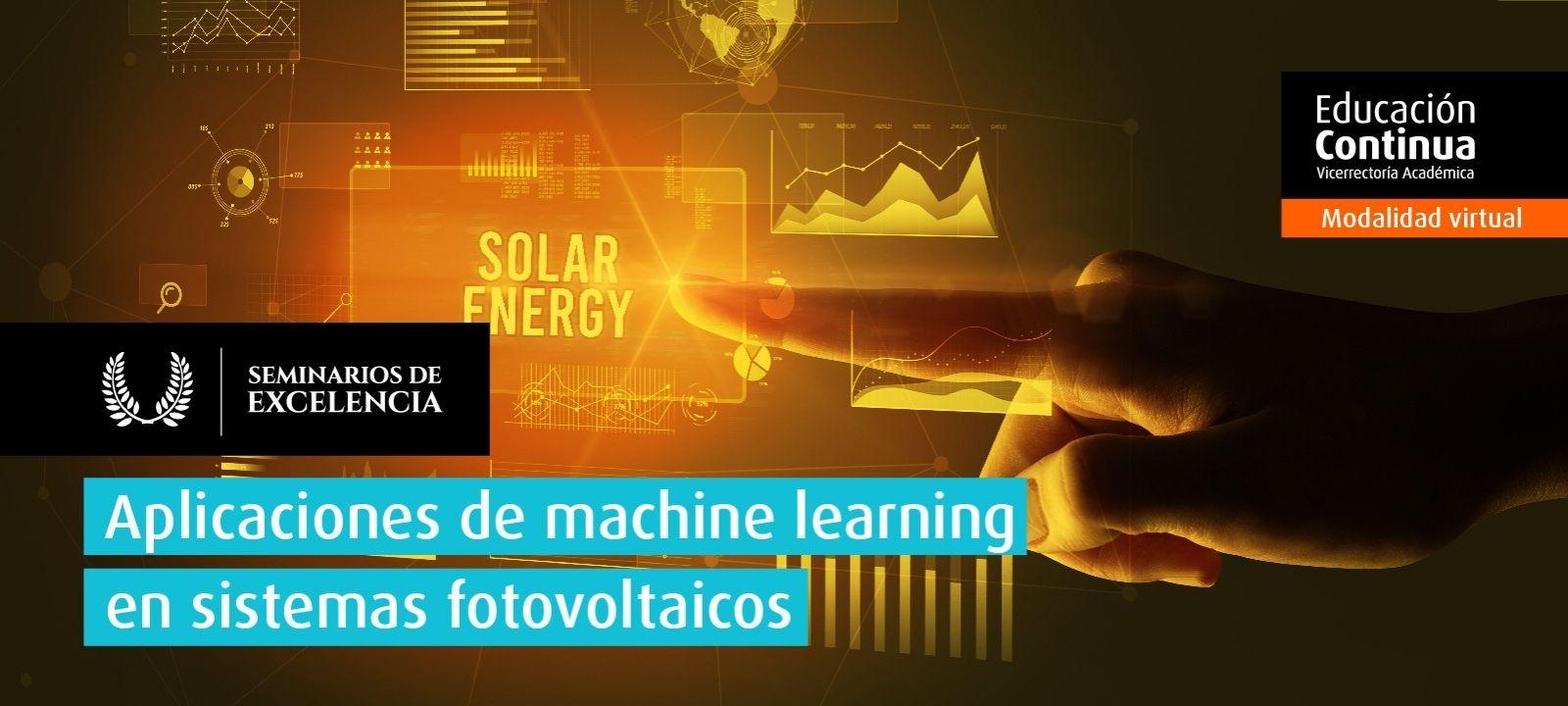 Curso virtual - Aplicaciones de machine learning en sistemas fotovoltaicos