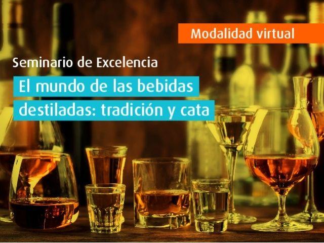 Curso virtual - El mundo de las bebidas destiladas: tradición y cata
