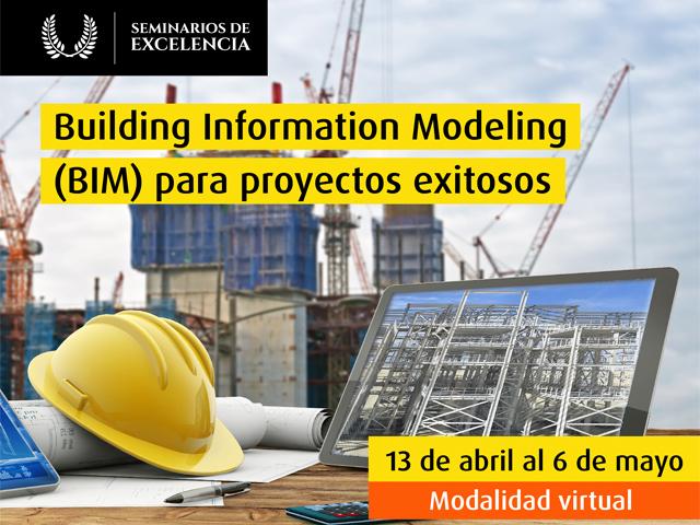 Curso virtual - Building Information Modeling (BIM) para proyectos exitosos