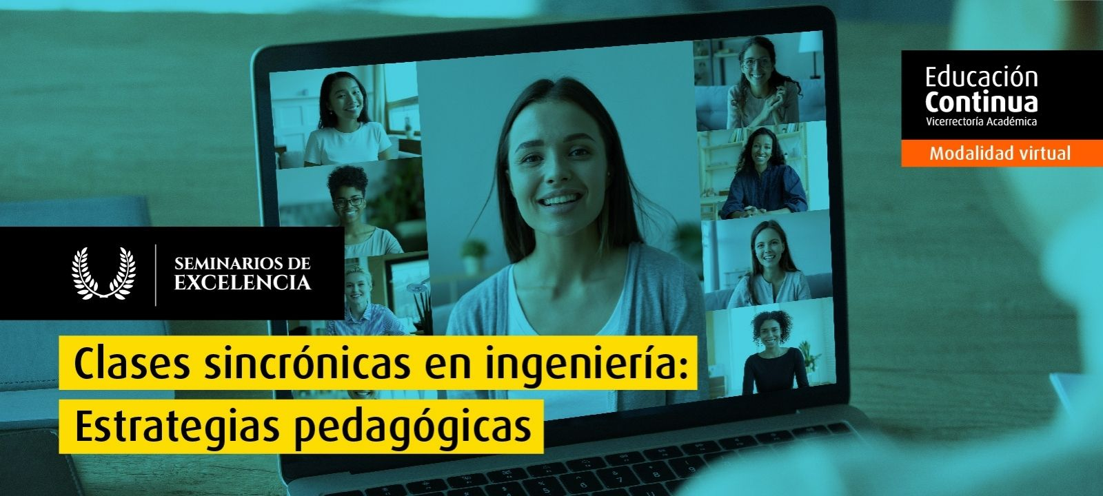 Curso virtual - Clases sincrónicas en Ingeniería: estrategias pedagógicas