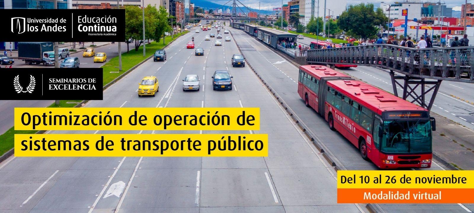 Curso virtual - Optimización de operación de sistemas de transporte público