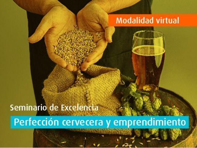 Curso virtual - Perfección cervecera y emprendimiento