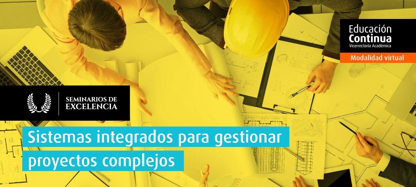 Curso virtual - Sistemas integrados para gestionar proyectos complejos