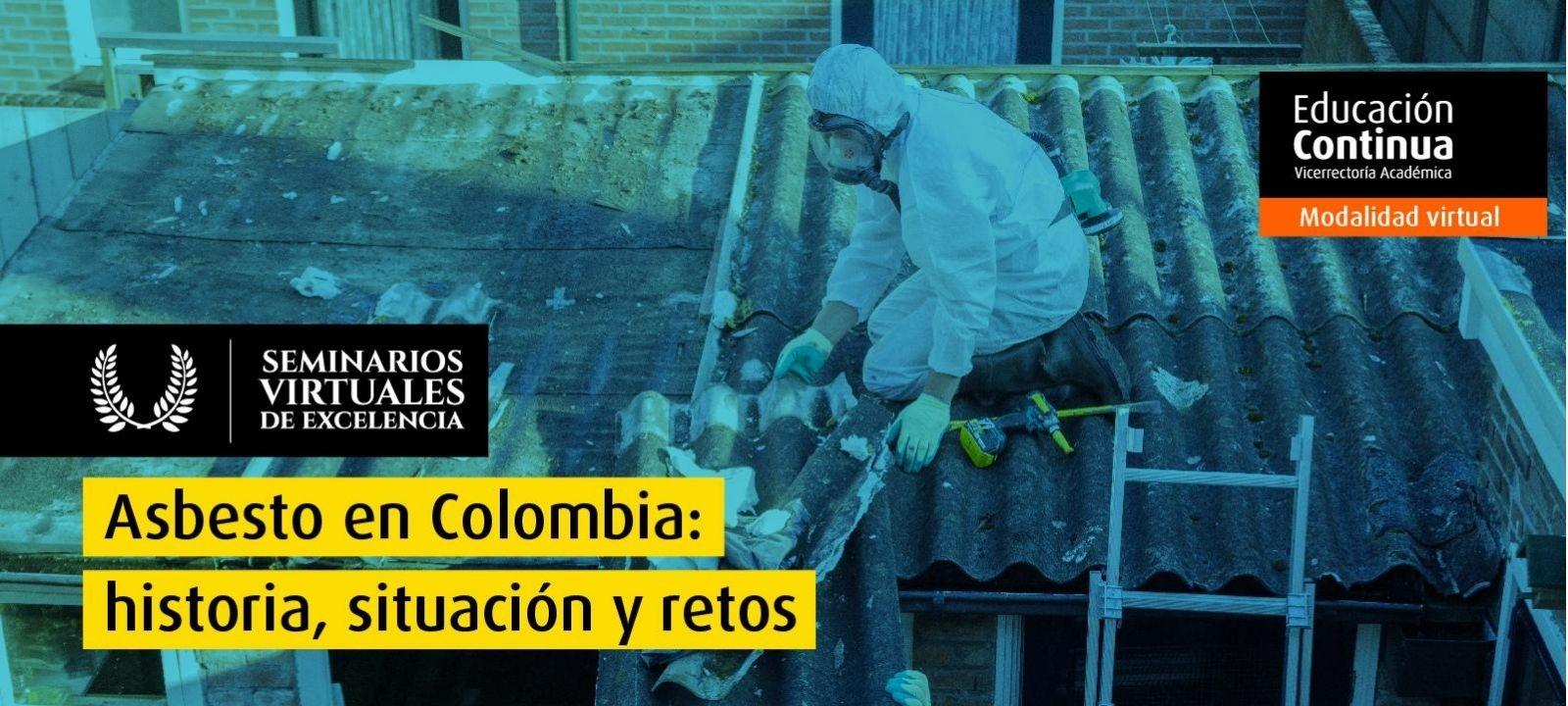 Curso virtual - Asbesto en Colombia: historia, situación y retos