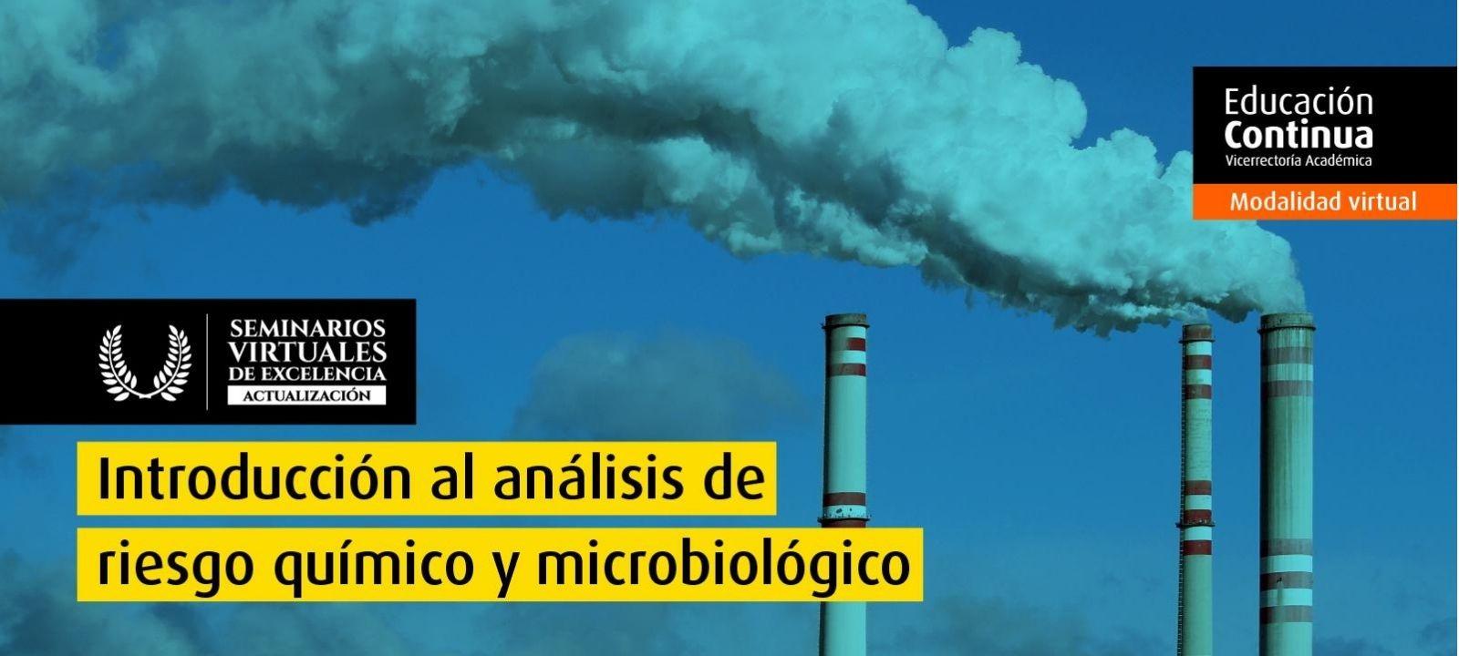 Curso virtual - Introducción al análisis de riesgo químico y microbiológico