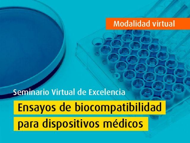 Seminario Virtual de Excelencia: Ensayos de biocompatibilidad