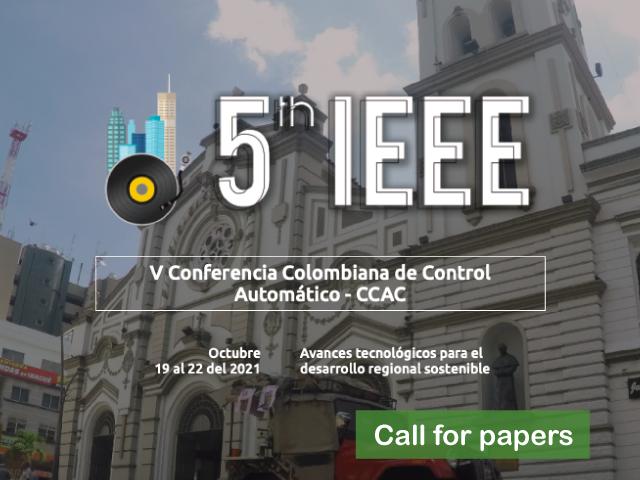 V IEEE Conferencia Colombiana de Control Automático – CCAC