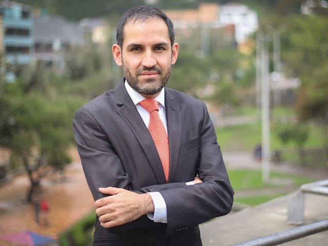 Álvaro Rodríguez, miembro del Standing Committee on Pedestrian