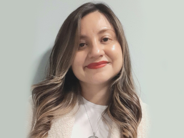 Andrea Sánchez Camargo, profesora del Departamento de Ingeniería Química y de Alimentos