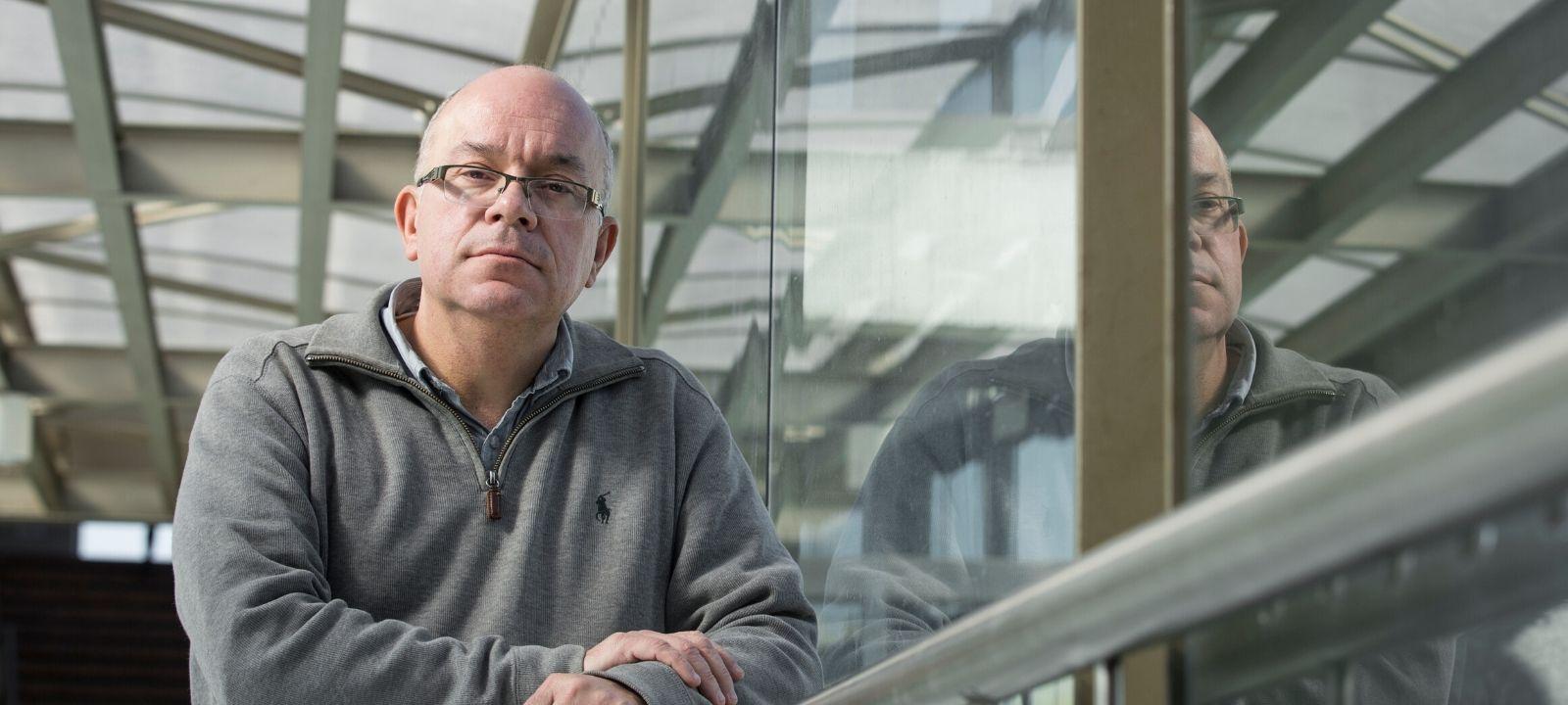 Bernardo Caicedo, profesor titular del Departamento de Ingeniería Civil y Ambiental