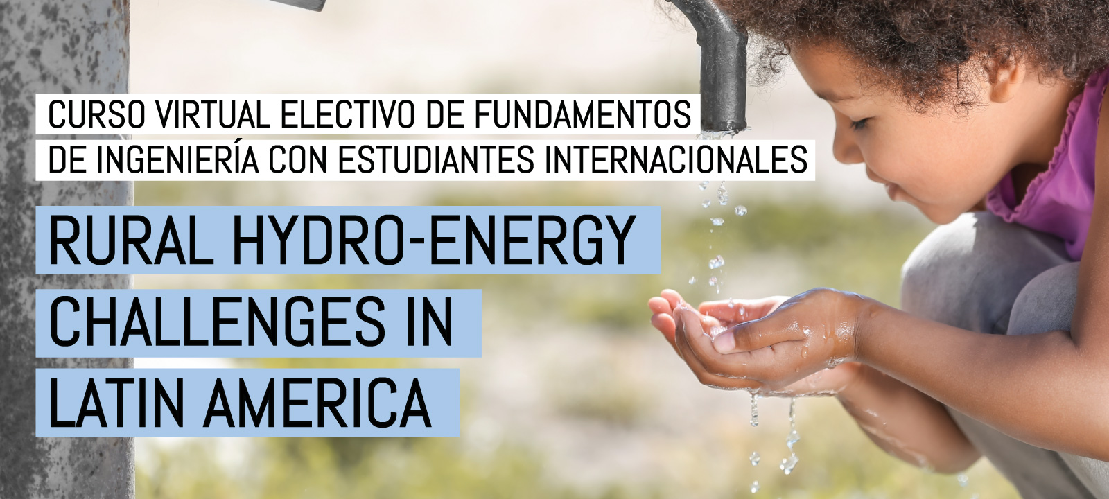 Curso virtual   Rural Hydro-Energy Challenges in Latin America