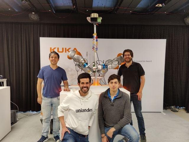 Egresados de Mecánica ganan el KUKA Innovation Award 2021