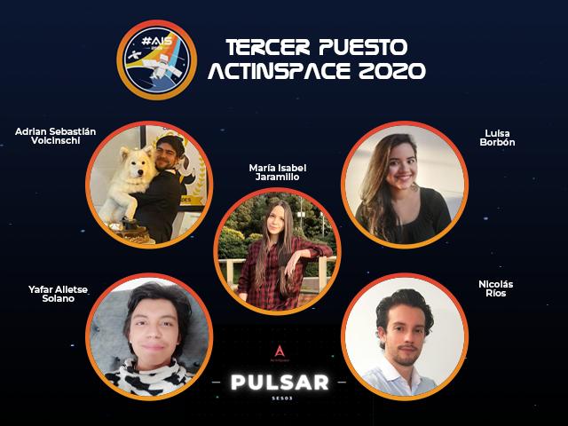 Uniandes logra tercera posición en ActInSpace Colombia 2020