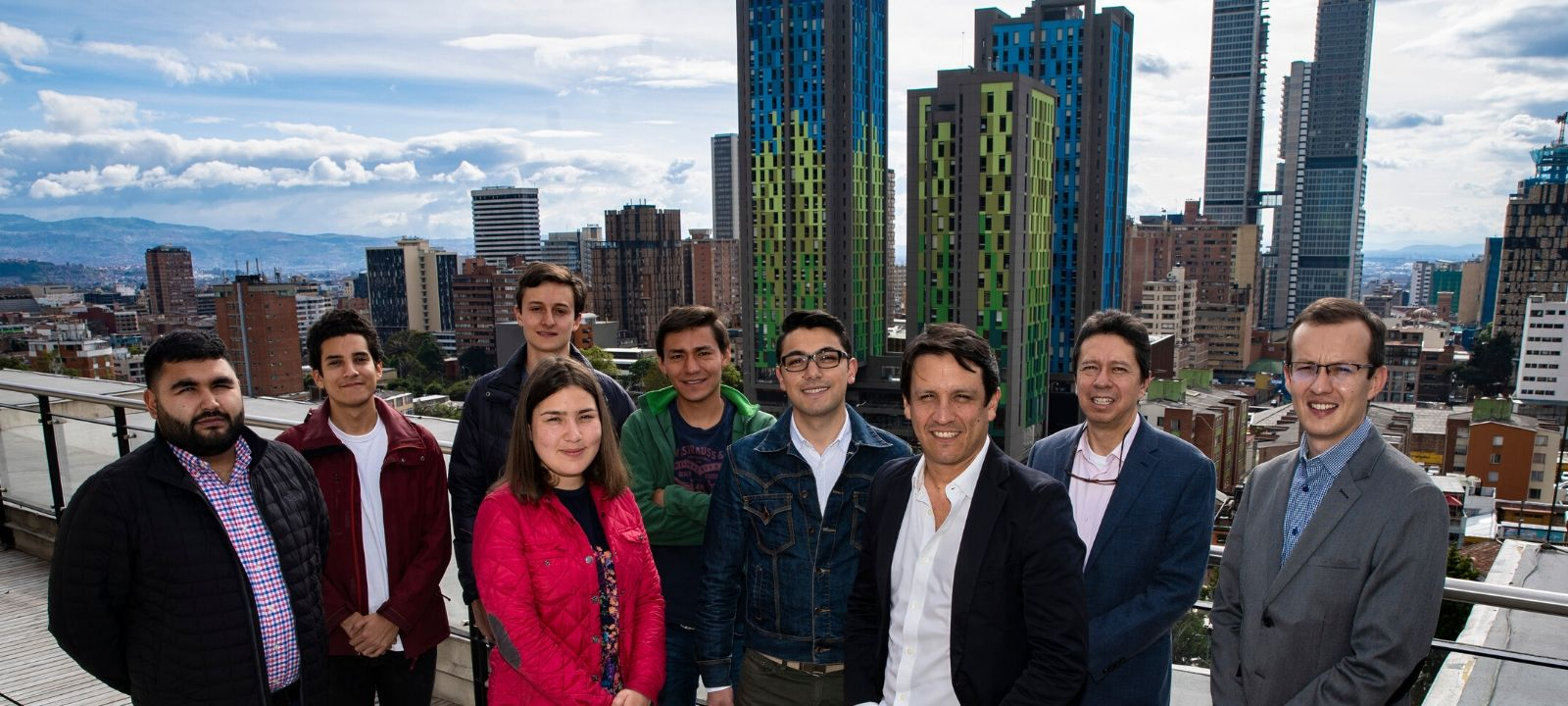 Investigadores del Grupo SUR de la Facultad de Ingeniería de Los Andes
