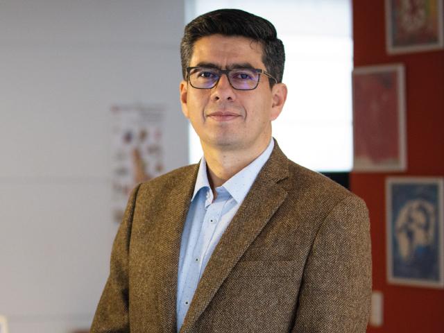 Guillermo Jiménez Estévez, director del Departamento de Ingeniería Eléctrica y Electrónica