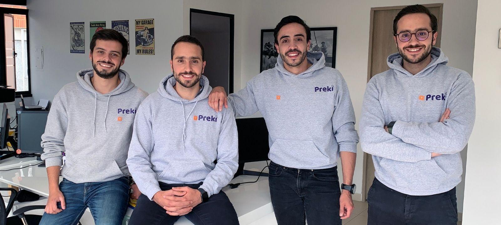 Integrantes de Preki, la start-up seleccionada por Ycombinator