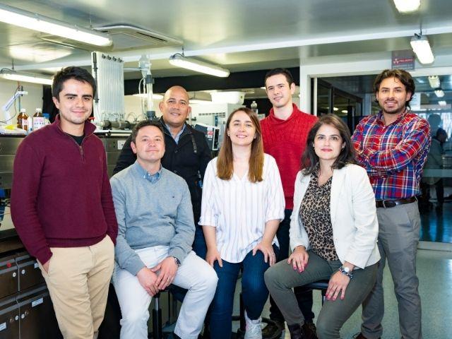 Investigadores del Departamento de Ingeniería Biomédica de la Universidad de los Andes