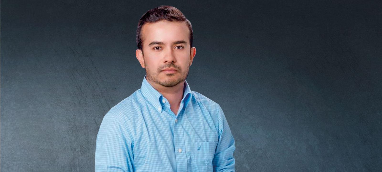 Jorge Poveda, ingeniero electrónico y mecánico de la Universidad de los Andes