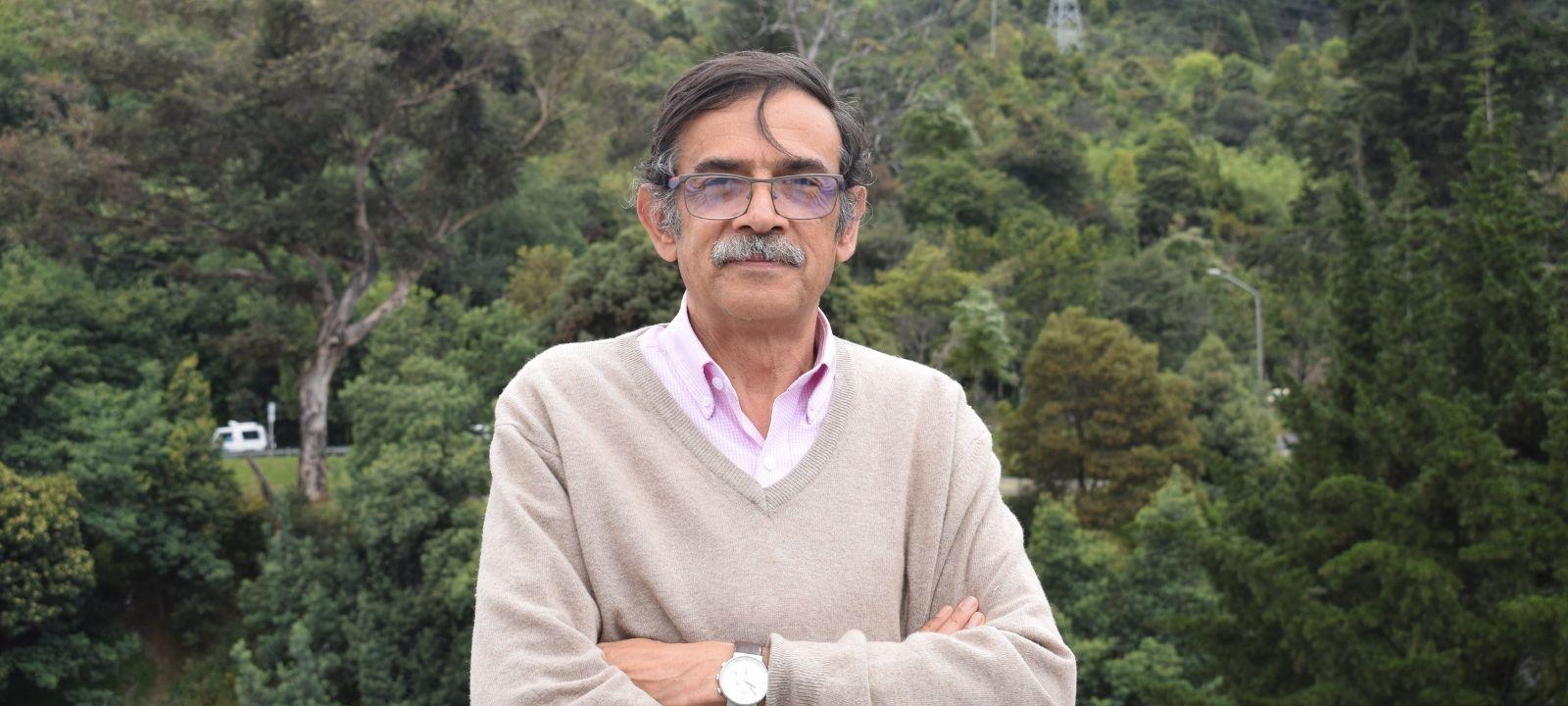 José Rafael Toro, profesor emérito de la Facultad de Ingeniería