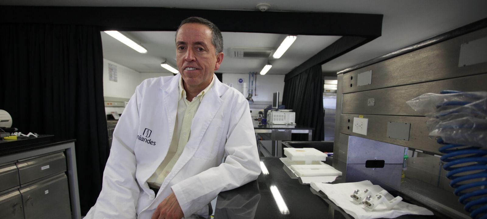 Juan Carlos Briceño, director de la Escuela de Posgrado e Investigación