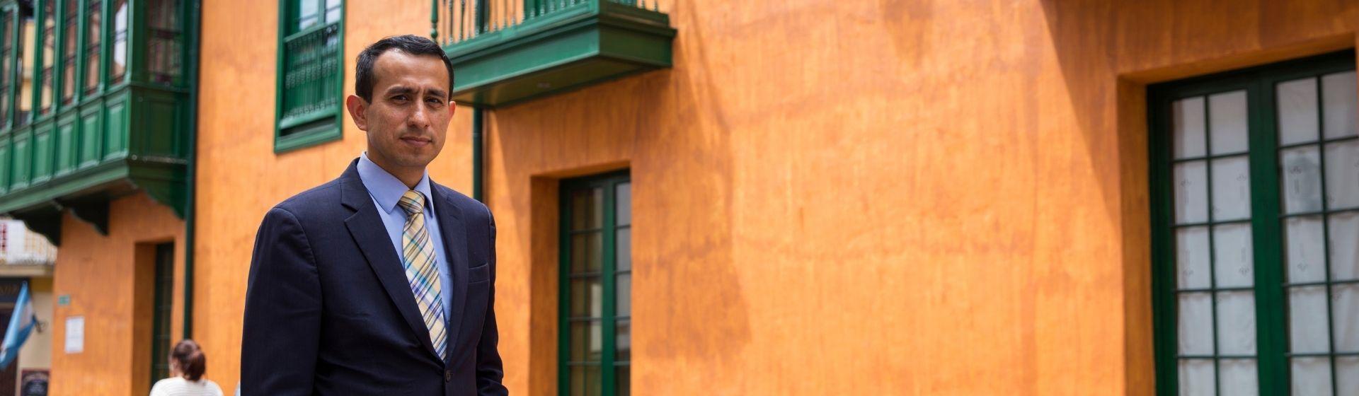 Juan Carlos Reyes, profesor asociado del Departamento de Ingeniería Civil y Ambiental de la Universidad de los Andes