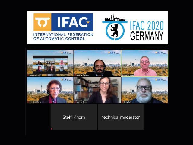 Nicanor Quijano participó en el IFAC World Congress 2020