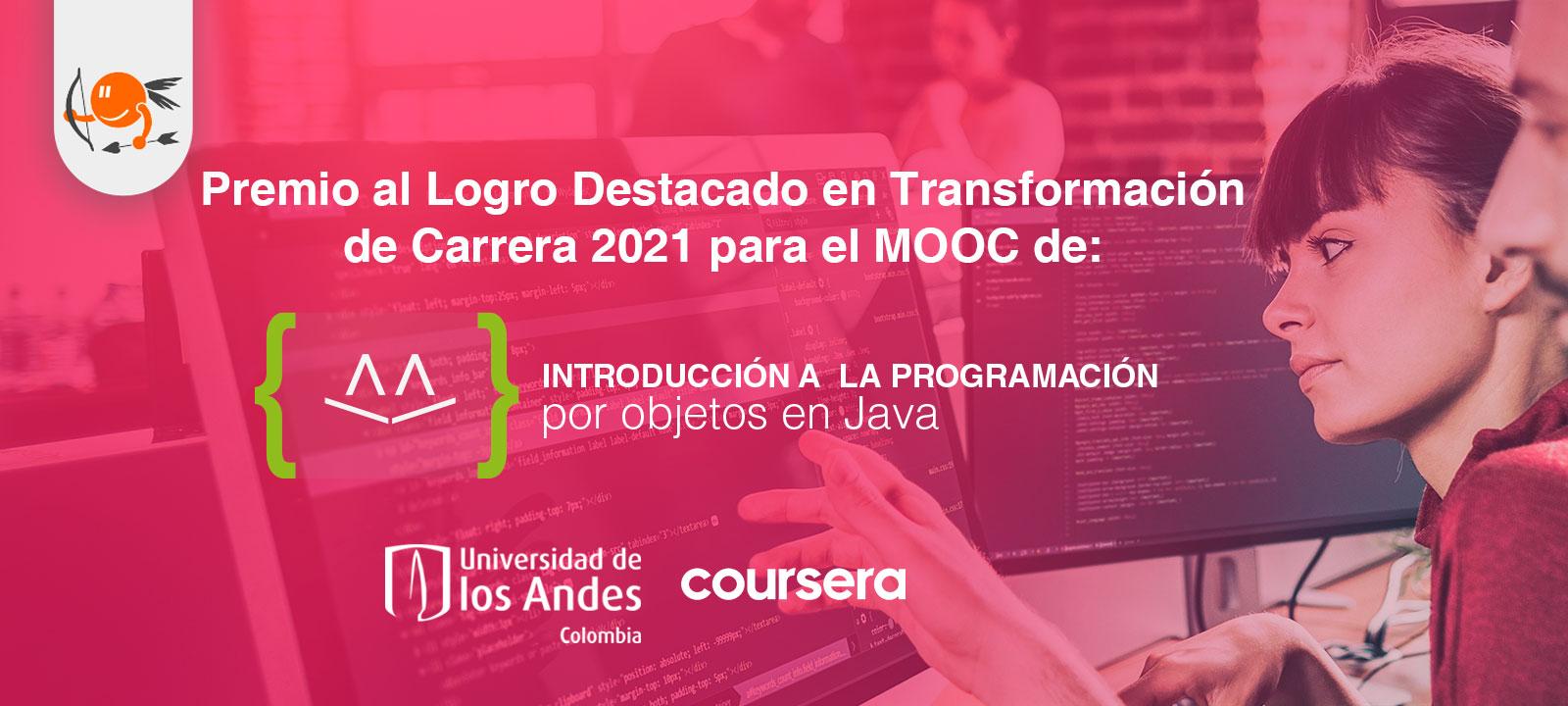 Coursera otorga premio de 'Transformación de Carrera' al MOOC de Java