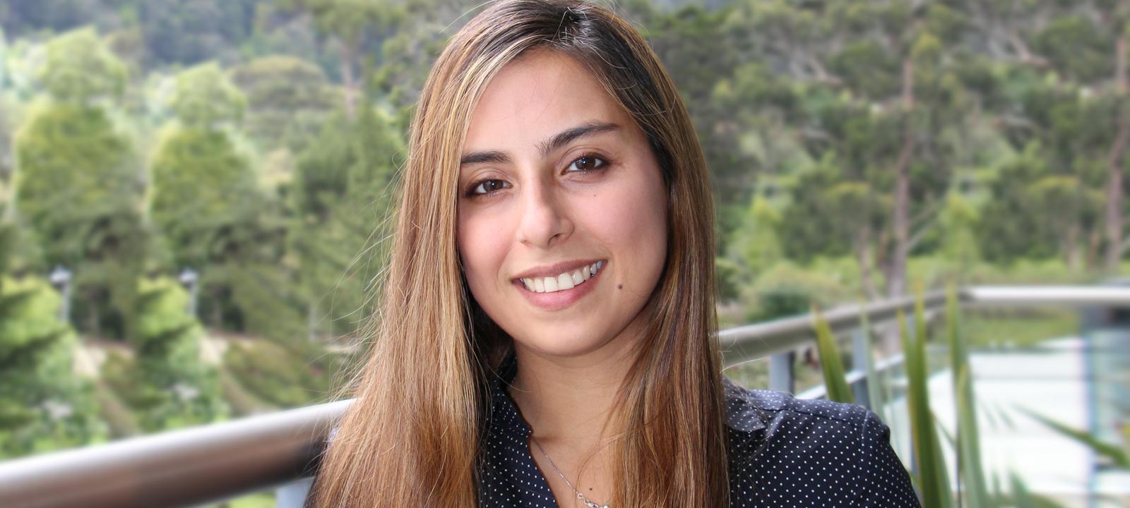 Sepideh Abolghasem, profesora del Departamento de Ingeniería Industrial
