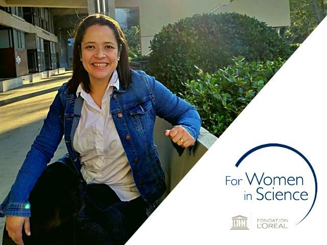 Vivian Salazar, investigadora posdoctoral del Departamento de Ingeniería Eléctrica y Electrónica