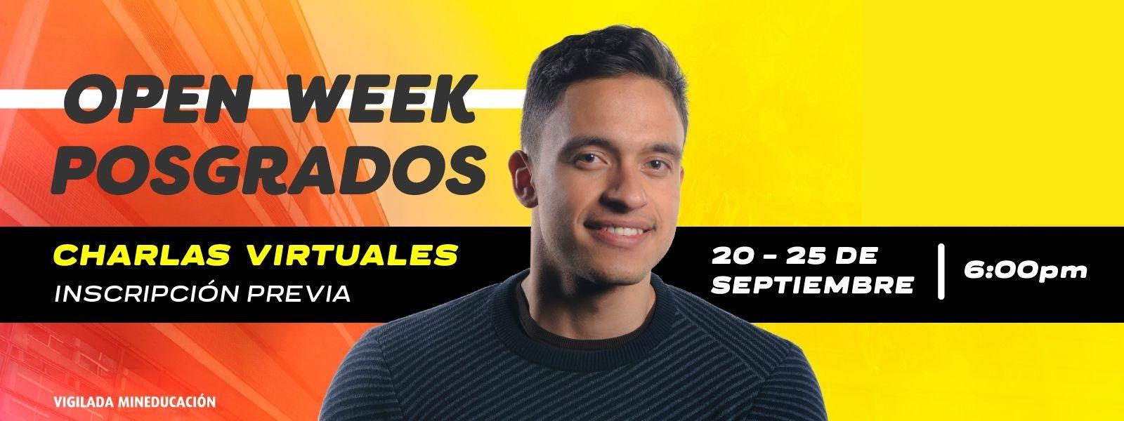 Open Week Posgrados - Universidad de los Andes