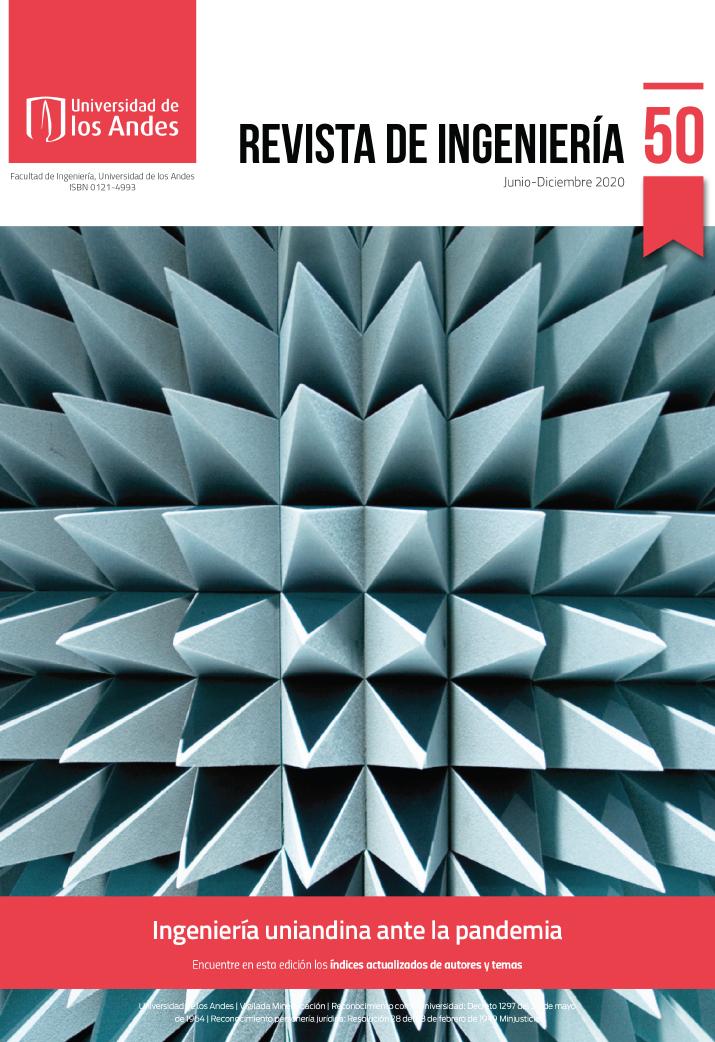 Revista de Ingeniería: Ingeniería uniandina ante la pandemia