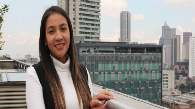 Astrid Xiomara Rodríguez, estudiante de Doctorado en Ingeniería