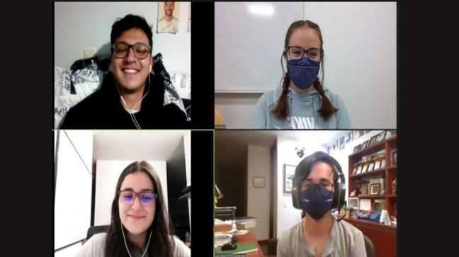 Estudiantes del curso Cross-Cultural Leadership Skills for Engineers - Purdue-Uniandes