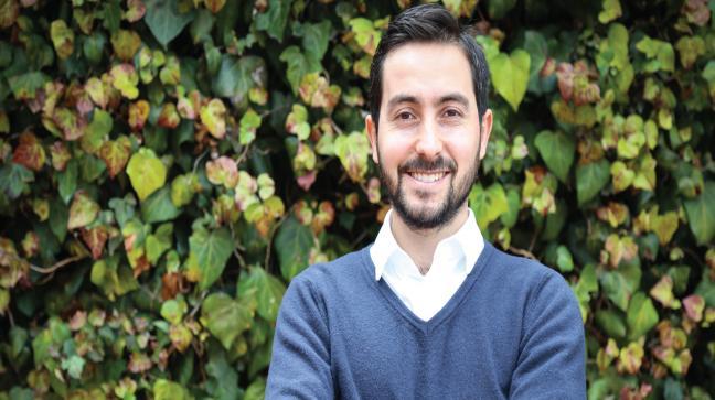 Miguel Ángel Cabrera, profesor asistente del Departamento de Ingeniería Civil y Ambiental