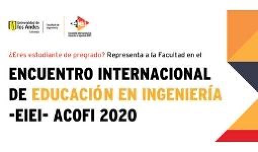 Encuentro Internacional de Educación en Ingeniería ACOFI (EIEI ACOFI 2020).