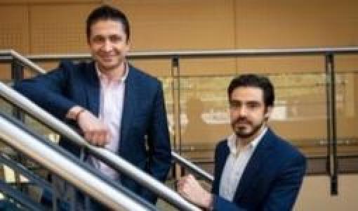 Sergio Cabrales y Carlos Valencia, profesores de Ingeniería Industrial | Uniandesq
