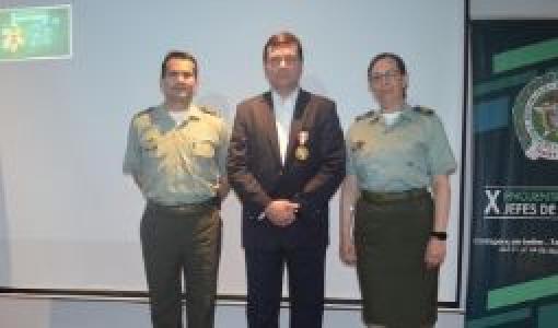 Yezid Donoso Medallas Policia