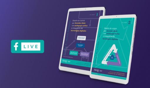 Libro 'Diseño de cursos por grandes ideas con pedagogía activa e integración de tecnologías digitales