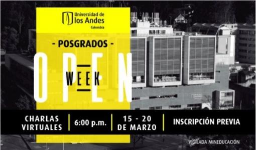 Open Week Posgrados 2021-10