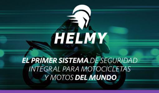 Helmy: el primer sistema de seguridad integral para motociclistas y motos del mundo